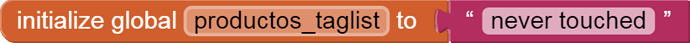 global productos_taglist