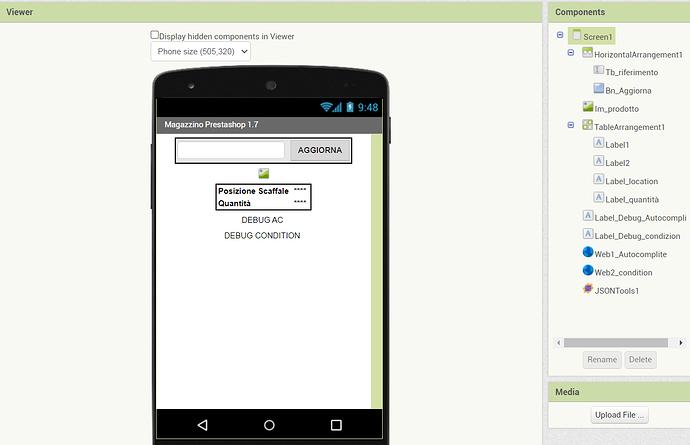 esempio app