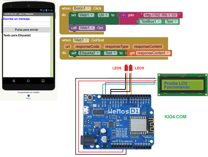 App Inventor Sends Information To Esp8266 By Wifi App Showcase Mit App Inventor Community