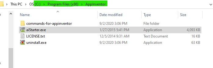 installDirectry