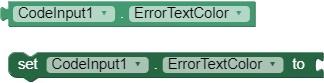 ErrorTextColor