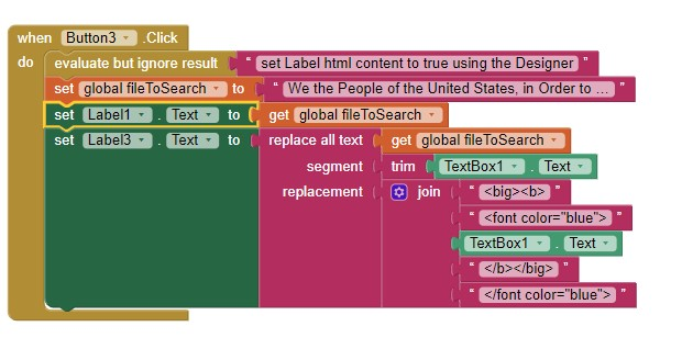 SearchLabelForWord2